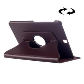 Litchi Texture 360 Degree Rotation Leather Case with multi-functional Holder for Samsung Galaxy Tab S2 9.7(Coffee)