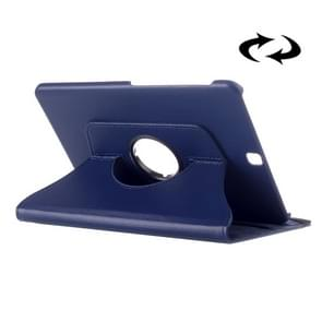 Litchi Texture 360 Degree Rotation Leather Case with multi-functional Holder for Samsung Galaxy Tab S2 9.7(Dark Blue)