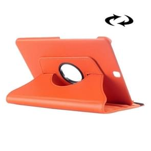 Litchi Texture 360 Degree Rotation Leather Case with multi-functional Holder for Samsung Galaxy Tab S2 9.7(Orange)