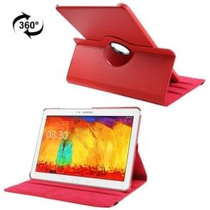 360 Degree Rotatable Litchi Texture Leather Case with 3-angle Viewing Holder for Samsung Galaxy Note & Tab Pro 12.2 / P900(Red)