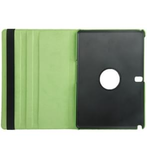 360 Degree Rotatable Litchi Texture Leather Case with 2-angle Viewing Holder for Samsung Galaxy Note 10.1 (2014 Edition) / P600, Green(Green)