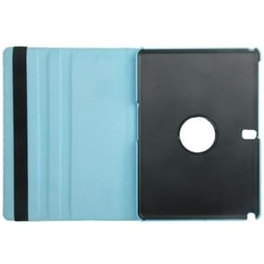 360 Degree Rotatable Litchi Texture Leather Case with 2-angle Viewing Holder for Samsung Galaxy Note 10.1 (2014 Edition) / P600, Baby Blue(Baby Blue)