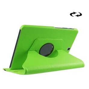 Litchi Texture 360 Degree Rotation Leather Case with Holder for Samsung Galaxy Tab S2 9.7 / T815 / T810(Green)