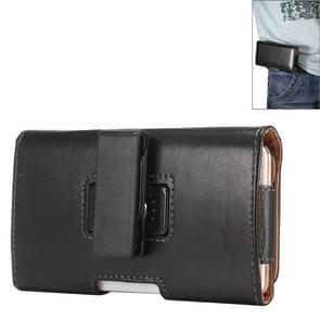 5.5 inch Sheepskin Texture Universal Rotatable Horizontal Style Leather Case with Belt Hole for Samsung Galaxy Note 3 / Note 2 / i9220(Black)