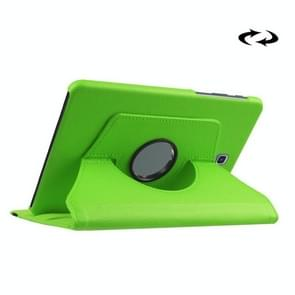 Litchi Texture 360 Degree Rotation Leather Case with Holder for Samsung Galaxy Tab S2 8.0 / T715 / T710(Green)