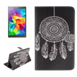 Dreamcatcher Windbell Pattern Leather Case with Holder & Card Slots & Wallet for Samsung Galaxy Tab S 8.4 / T700