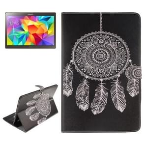 Dreamcatcher Windbell Pattern Leather Case with Holder & Card Slots & Wallet for Samsung Galaxy Tab S 10.5 / T800