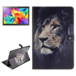 Lion Pattern Leather Case with Holder & Card Slots & Wallet for Samsung Galaxy Tab S 10.5 / T800