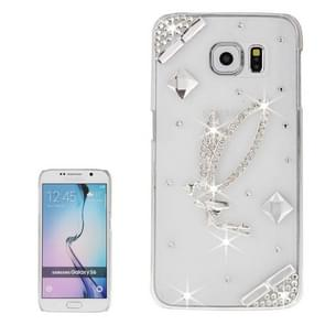 For Samsung Galaxy S6 / G920 Transparent Diamond Encrusted Elegant Accessory Pattern Protective Case