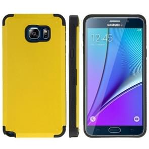 PC + TPU Combination Case for Samsung Galaxy Note 5 / N920(Yellow)