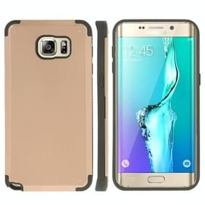 For Samsung Galaxy S6 edge+ / G928 PC + TPU Combination Case (Gold)
