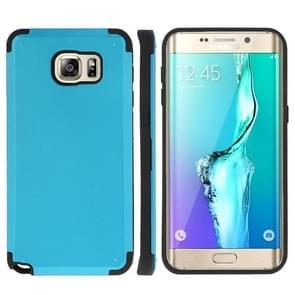 For Samsung Galaxy S6 edge+ / G928 PC + TPU Combination Case (Blue)