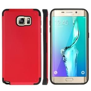 For Samsung Galaxy S6 edge+ / G928 PC + TPU Combination Case (Red)