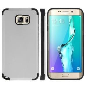 For Samsung Galaxy S6 edge+ / G928 PC + TPU Combination Case (Silver)