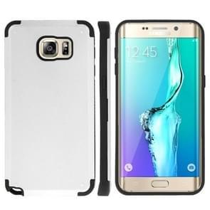 For Samsung Galaxy S6 edge+ / G928 PC + TPU Combination Case (White)