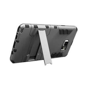 TPU + PC Combination Case with Holder for Samsung Galaxy Note 5 / N920(Grey)