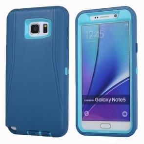For Samsung Galaxy Note 5 / N920 Hybrid TPU Bumper PC Combination Case(Blue)