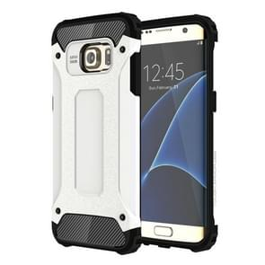 For Galaxy S7 Edge / G935 Tough Armor TPU + PC Combination Case (White)