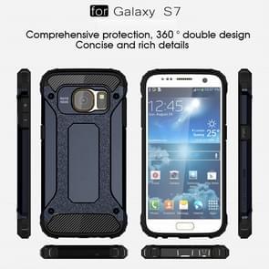 For Samsung Galaxy S7 / G930 Tough Armor TPU + PC Combination Case (Dark Blue)