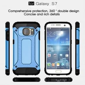 ToFor Samsung Galaxy S7 / G930 Tough Armor TPU + PC Combination Case (Blue)