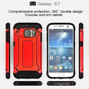 For Samsung Galaxy S7 / G930 Tough Armor TPU + PC Combination Case (Red)