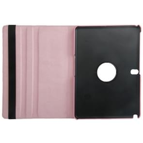 360 Degree Rotatable Litchi Texture Leather Case with 2-angle Viewing Holder for Samsung Galaxy Tab Pro 10.1 / T520(Pink)
