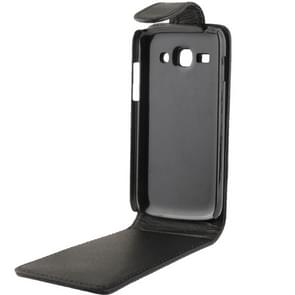 Vertical Flip Soft Leather Case for Samsung Galaxy Ace 3 / S7272(Black)