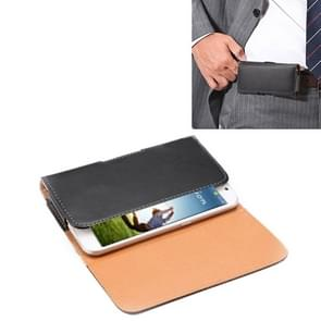 Crazy Horse Texture Vertical Flip Leather Case / Waist Bag with Back Splint for Samsung Galaxy S4 / i9500