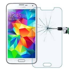 LOPURS 0.30mm 9H+ Surface Hardness 2.5D Explosion-proof Anti Blue-ray Tempered Glass Film for Galaxy S5 / G900