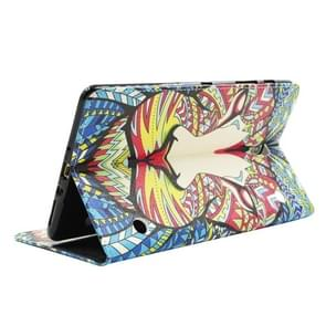 Lion Pattern Cross Texture Leather Case with Holder & Card Slots & Wallet for Samsung Galaxy Tab S 8.4 / T700