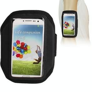 Sports Armband Case for Samsung Galaxy S IV / i9500 (Black)