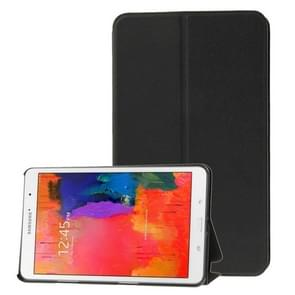 Frosted Texture Flip Leather Case with Holder for Samsung Galaxy Tab Pro 8.4 / T320(Black)
