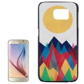 For Samsung Galaxy S6 / G920 Colorful Pattern Hard Case