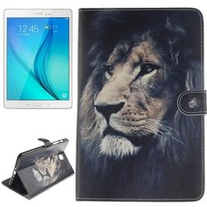 Lion Pattern Leather Case with Holder & Card Slots & Wallet for Samsung Galaxy Tab A 8.0 / T350