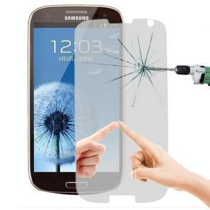 LOPURS Mirror 0.26mm 9H+ Surface Hardness 2.5D Explosion-proof Tempered Glass Film for Galaxy SIII / i9300