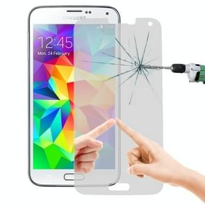 LOPURS Mirror 0.26mm 9H+ Surface Hardness 2.5D Explosion-proof Tempered Glass Film for Galaxy S5 / G900
