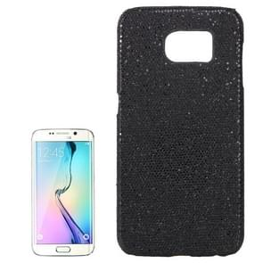 For Samsung Galaxy S6 / G920 Flash Powder Skin Paste Plastic Protective Case (Black)