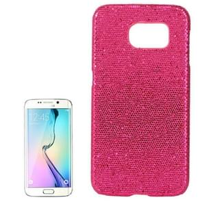 For Samsung Galaxy S6 / G920 Flash Powder Skin Paste Plastic Protective Case (Magenta)