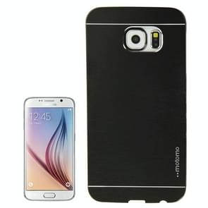 For Samsung Galaxy S6 / G920 Brushed Texture Protective Case (Black)