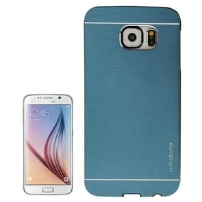 For Samsung Galaxy S6 / G920 Brushed Texture Protective Case (Dark Blue)
