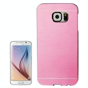 For Samsung Galaxy S6 / G920 Brushed Texture Protective Case (Pink)