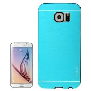 For Samsung Galaxy S6 / G920 Brushed Texture Protective Case (Blue)