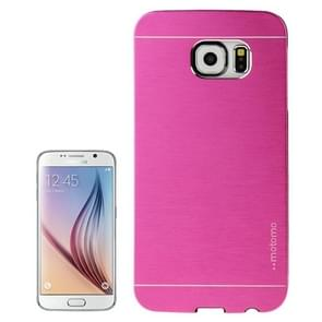 For Samsung Galaxy S6 / G920 Brushed Texture Protective Case (Magenta)