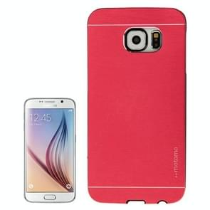 For Samsung Galaxy S6 / G920 Brushed Texture Protective Case (Red)