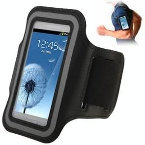 Sports Armband Case with Earphone Hole for Samsung Galaxy SIII mini/ i8190 , Galaxy Trend Duos / S7562 (Black)