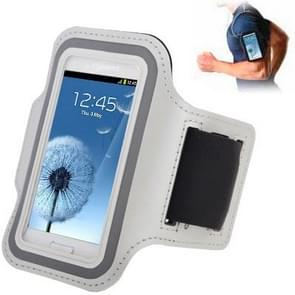 Sports Armband Case with Earphone Hole for Samsung Galaxy SIII mini/ i8190 , Galaxy Trend Duos / S7562 (White)