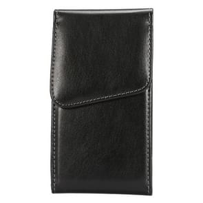 For iPhone X & Samsung Galaxy S7 / S6 / G920 & S5 / G900 & S4 / i9500 & Grand DUOS / I9082 5.2 Inch Universal Lambskin Texture Vertical Flip Leather Case / Waist Bag with Rotatable Back Splint