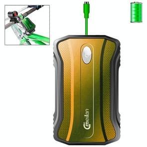 Meilan X4 6600mAh Outdoor Waterproof Power Bank, Waterproof Level: IPX65(Yellow)