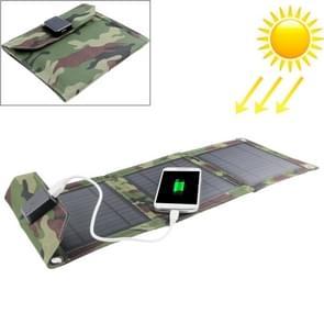 7W Portable Folding Solar Panel / Solar Charger Bag for Laptops / Mobile Phones