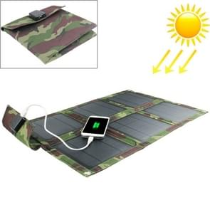 15W Portable Folding Solar Panel / Solar Charger Bag for Laptops / Mobile Phones